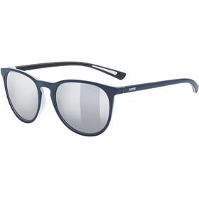 UVEX LGL 43 Bril, blauw/zilver